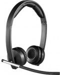 Obrázok produktu Logitech dual H820e, bezdrôtové multimediálne, stereo, PC slúchadlá s mikrofónom, čierne