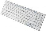 Obrázok produktu Rapoo E9070, bezdrôtová klávesnica, 2.4GHz, USB prijímač, ultra-slim, SK, biela