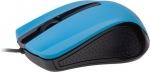 Obrázok produktu Gembird myš MUS-101, 1200 DPI, USB, čierno-modrá