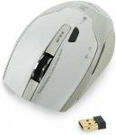 Obrázok produktu E-Blue ARCO 2, 2.4 GHz, bezdrôtová optická myš, 400-1800DPI, NANO prijímač, biela