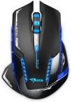 Obrázok produktu E-Blue Mazer-R 2, bezdrôtová, optická herná myš, 2.4GHz USB prijímač, 500-2500dpi, čierna