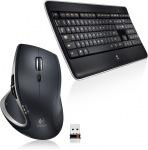 Obrázok produktu Logitech MX800 Performance, bezdrôtová klávesnica, 2.4GHz USB prijímač, US + myš, laserová