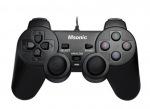 Obrázok produktu MSONIC Gamepad USB PC / PS3,  vibračný režim MN3329BK