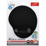Obrázok produktu Vellu Gel Mousepad, gélová podložka pod myš, čierna