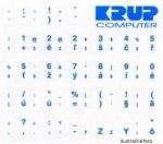 Obrázok produktu Nálepka na klávesnicu, modrá