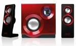 Obrázok produktu Sweex Purephonic SP211,2.1, 9W, čierno-červené