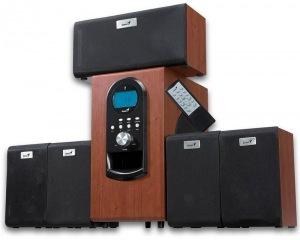 Obrázok produktu Genius SW-HF5.1 6000, 200 W, tmavé drevo