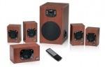Obrázok produktu Speaker GENIUS SW-HF5.1 4600  /  5.1. /  120W  /  drevene