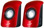 Obrázok produktu Genius SP-U115 USB Powered, červené