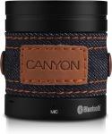 Obrázok produktu Canyon CNS-CBTSP1B Bluetooth bezdrôtový reproduktor, štýlový džínsový poťah, čierny
