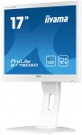 "Obrázok produktu iiyama B1780SD-W1 17"", LED, 1280x1024, DVI-D, VGA, Pivot, Repro, Biely"