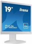 "Obrázok produktu iiyama B1980SD-W1 19"", LED, 1280x1024, VGA, DVI, Repro, Pivot, Biely"