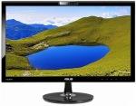 "Obrázok produktu Asus VK228H 21,5"", LED, FullHD, VGA, HDMI, DVI-D, USB, Repro, Webkamera"