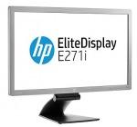 "Obrázok produktu HP EliteDisplay E271i 27"", LED IPS, FullHD, VGA, DVI-D, DP, USB, Pivot"