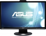 "Obrázok produktu Asus VK248H, 24"" LED, FullHD, 2 ms, HDMI, VGA, DVI-D, Webcam, Repro"