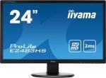 "Obrázok produktu iiyama E2483HS-B1 24"",LED, FullHD, 2ms, VGA, DVI-D, HDMI, Repro"