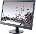 """Obrázok produktu AOC E2460SH 24"""" WLED, FullHD, 1 ms, HDMI, VGA, DVI-D, Repro"""