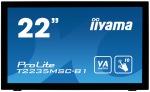 "Obrázok produktu 22"" LCD iiyama T2235MSC-B1 -VA, 6ms, 3000:1, repro"