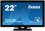 "Obrázok produktu 22"" LCD iiyama T2236MSC-B2 - multidotekový,  FullHD,  AMVA,  kapacitní,  USB"