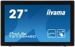 "Obrázok produktu 27"" LCD iiyama T2735MSC-B2 - 5ms, 255cd / m2, DVI, HDMI, VGA, USB, multidotek, kapaci"