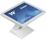"""Obrázok produktu iiyama T1931SR-W 19"""", LED, 1280x1024, DVI-D, VGA, USB, RS-232C, Repro, Dotykový, Biel"""
