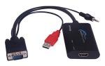 Obrázok produktu PremiumCord konvertor VGA+audio naHDMI