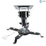 Obrázok produktu 4W Stropní držiak projektorov, otočný / sklopný 20kg BL