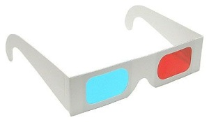 6da4a5774 3D okuliare papierové Red-Cyan pre 3D filmy DOPREDAJ | PCkonfig.sk -