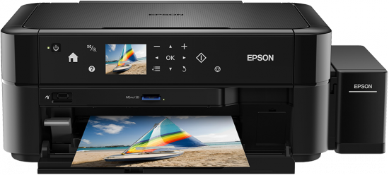 Epson L850,  A4 color All-in-One,  foto tlac,  tlac na CD  - C11CE31401