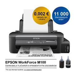 Epson M100, A4, sieť, dopĺňanie zo zásobníkov, černobiela - C11CC84301