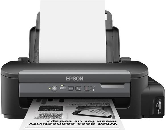 Epson M105, A4, Wifi, dopĺňanie zo zásobníkov, černobiela - C11CC85301