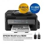 Obrázok produktu Epson M200, A4, sieť, ADF, dopĺňanie zo zásobníkov