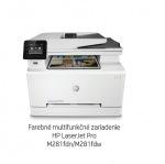 Obrázok produktu HP Color LaserJet Pro MFP M281fdn