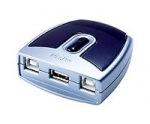Obrázok produktu ATEN USB 2.0. přepínač periferií 2:1 US-221A