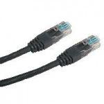 Obrázok produktu Datacom patch kábel RJ45, cat5e, 0,25m, čierny