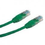 Obrázok produktu Datacom patch kábel RJ45, cat5e, UTP, 0,25m, zelený