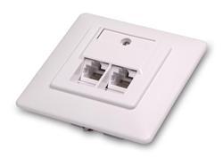 CNS zásuvka pod omietku - EC8305-UD-C6/WH