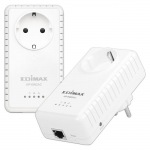 Obrázok produktu Edimax 2x HP-6002AC AV600 Powerline Gigabit Eth. adapter, integr DIN socket