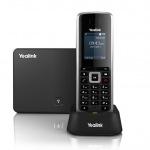 "Obrázok produktu Yealink W52P IP DECT báze+ručka, PoE, 1, 8"" bar. LCD, až 5 ruček"