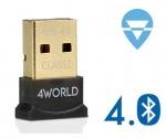 Obrázok produktu 4World MICRO Adaptér Bluetooth,  Class 1,  version 4.0