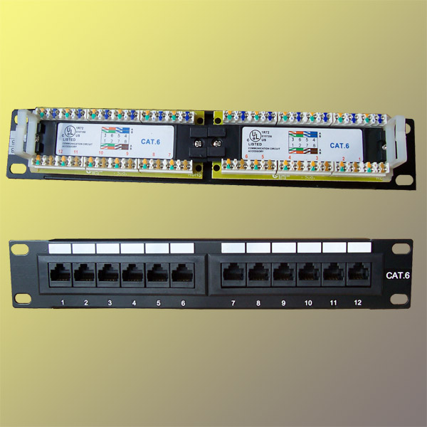 "Full patch panel 10"" -"