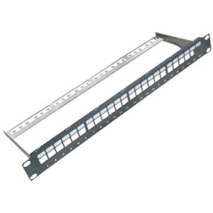 "DATACOM 19"" Neosazený Patch panel 24 port -"