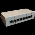 Obrázok produktu Patch panel Box 8-port Cat5e STP na stenu