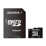 Obrázok produktu 4 GB . microSDHC karta A-DATA class 4 + adaptér