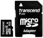 Obrázok produktu A-DATA microSDHC karta 4GB, adaptér SD