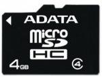 Obrázok produktu ADATA microSDHC karta, 4GB