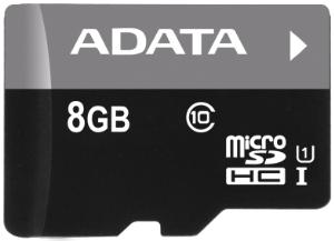 ADATA MicroSDHC Premier - AUSDH8GUICL10-R