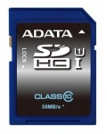 Obrázok produktu ADATA SDHC, UHS-I class10, pamäťová karta, 8GB, (50MB/ 35MB/ s)