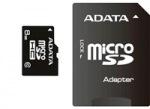 Obrázok produktu ADATA MicroSDHC Premier, UHS-I Class10, 8GB + adaptér