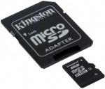 Obrázok produktu KINGSTON microSDHC karta, 8GB, adaptér SD